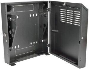 Tripp Lite 4U Wall Mount Low Profile Secure Rack Enclosure Cabinet SRWF4U