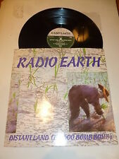 "RADIO EARTH - Distant Land (Ba Doo Bomb Bomb) - 1987 2-track 12"" Vinyl Single"