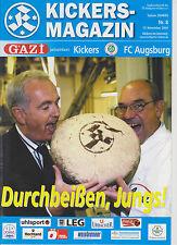 Programm SV Stuttgarter Kickers - FC Augsburg   Regionalliga-Süd  Saison 2004/05
