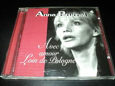 "RARE! CD ""AVEC AMOUR LOIN DE POLOGNE"" Anna PRUCNAL / 20 titres"