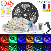 Kit Ruban Bande De Lumière LED Strip 5M 10M 15M RGB 300 LED 3528/5050 SMD Lampe