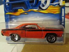 Hot Wheels '70 Plymouth Road Runner #100 Red