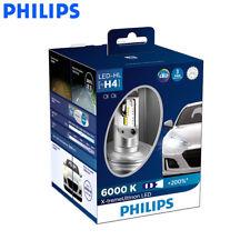 2X Philips LED H4 12953 BW X-treme Auto Headlight 6000K White Light, US Seller