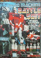 Robo machine Battle Suit power system 5