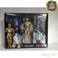 Medicom Toy MAFEX Star Wars No.012 C-3PO and R2-D2 Japan Import Official NEW F/S
