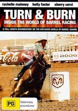 Turn and Burn: Inside the World of Barrel Racing (DVD, 2008) 'NEW & SEALED'