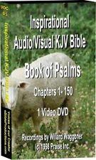 Book of Psalms Audio +2701 Photos KJV Text DVD Video