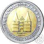 2 euro 2006 Germania Holstentor Germany Alemania Allemagne Deutschland Германия