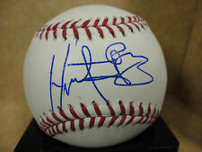 HECTOR GOMEZ KC ROYALS SIGNED AUTOGRAPH MAJOR LEAGUE BASEBALL W/COA