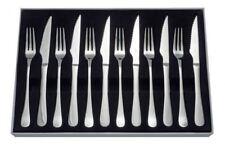 Judge Windsor Set of 6 Stainless Steel Steak Knives & Forks