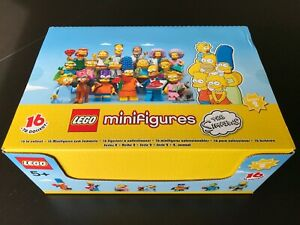 The Simpsons Series 2 FACTORY-SEALED retail box of 60 LEGO Minifigures (71009)