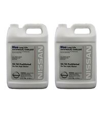 For Genuine Blue Long Life Antifreeze/Coolant 2 Gallons For Nissan Altima Juke