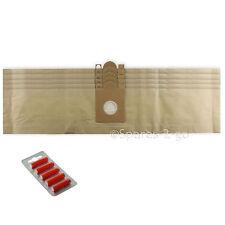 5 X Aspiradora bolsas de polvo para NILFISK D10 Gd110 Hoover Bolsa + fresca