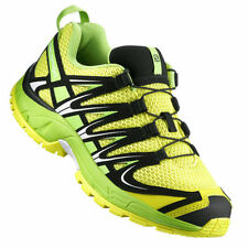 Scarpe sportive traspirante gialli di gomma