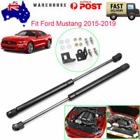 For 2015-19 Ford MUSTANG Vehicle Front Boot Bonnet Gas Lift Support Strutsx2 AU
