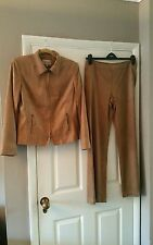 Next faux suede jacket and trousers/casual suit, size 14