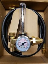 Regulator Flowmeter w/ 10' Hose Co2 / Argon 25/75 MIG 580 TIG Welder USA shipper