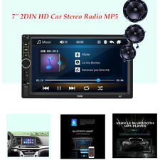 "7"" 2DIN HD Car Stereo Radio MP5 Player Bluetooth USB AUX Touch Screen Video"