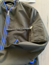 Dior Homme Limited Bomber Jacket Blouson Silk Jacket Coat Outerwear 48 S Rp