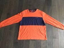 Polo Sport Ralph Lauren Vintage shirt longe sleeve XL Men's Orange Blue