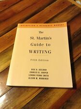 St Martins Guide by Axelrod and Cooper (1997, Hardcover, Teacher's Edition of Te