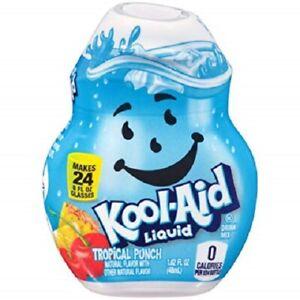 Kool-Aid Tropical Punch Flavor Enhancer Liquid Drink Mix