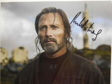 STAR WARS (rouge one) personally signed 14x11 - MADS MIKKELSEN as Galen Erso (a)