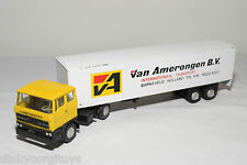 LION CAR DAF 2800 TRUCK WITH TRAILER VAN AMERONGEN B.V. BARNEVELD EXCELLENT