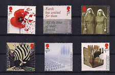 2017 GB QEII ROYAL MAIL COMMEMORATIVE STAMP SET OF 6 - THE GREAT WAR 1917