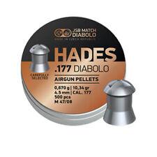 JSB Match Diablo Hades Point 177 Cal Heavy Grain Air Gun Pellets x 500