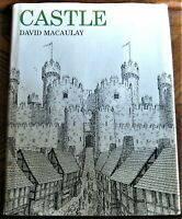 Caldecott Honor book CASTLE by David Macaulay, in dustjacket, true first edition