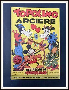 ⭐ TOPOLINO ARCIERE - Regno di Topolino Disney # 19 - 1936 - DISNEYANA.IT ⭐