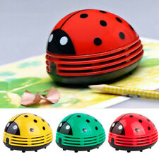 New Mini Ladybug Desktop Vacuum Cleaner Dust Collector Home Office Cleaning Tool