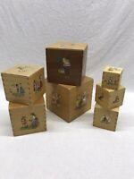 Vintage Nesting Boxes Set Of 7