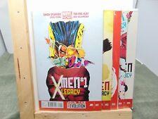 4 /& 5 Marvel Comics CB5297 X-Men Legacy #1 3 2