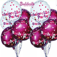 Bachelorette Hens Night Bride Adult Party Foil Balloons Fun Assorted 9 pc's