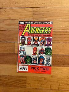 Avengers #221 Marvel Comics She Hulk Joins Hawkeye Rejoins 1982 COMB SHIPPING e