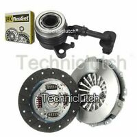 NATIONWIDE 2 PART CLUTCH KIT AND LUK CSC FOR RENAULT CLIO BOX 1.5 DCI