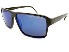 a4c356df3c9 Porsche Design Men Sunglasses Dark Grey Blue   Grey Blue Mirror P8634 C