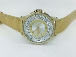 Armani Exchange Lady Banks AX4321 Gold Tone Leather Ladies Watch (190E)