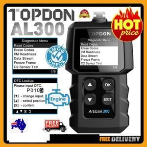 TOPDON Auto OBD2 Diagnostic Car Code Reader Scanner Reset Scan Tool For Holden