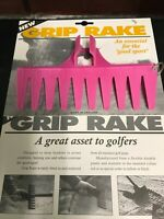Golf Bunker Personal Pink Grip Rake Golf Present / Accessory / Gift