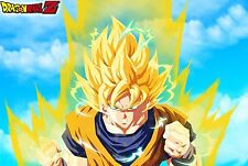Poster A3 Dragon Ball Super Saiyan 01