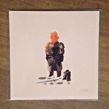 Olly Moss -  Barristan Selmy Game of Thrones - Mini 5x5 Art Print Poster GoT