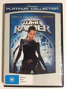 Lara Croft Tomb Raider Special Collector's Edition DVD R M Pal Region 4
