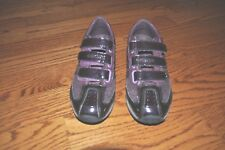 GIRLS GEOX RESPIRA Puple Leather Tennis Shoes Size 4 Youth