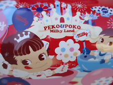 Japanese Lunch Box Peko & Poko Advertising Figures Candy Company Metal Fujiya