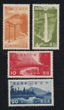 J409 Japan 1938 MVLH OG Nikko National Park Sc#280-283 20s w/crease