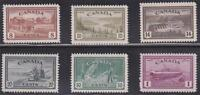 Canada 1946 - #268-73 King George VI Peace Issue (set of 6) MNH VF