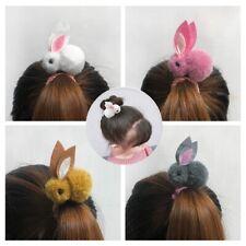 Cute animal Hair ball child women girl hair elastic ring